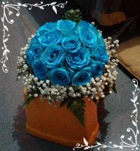 bunga bouquet pengantin