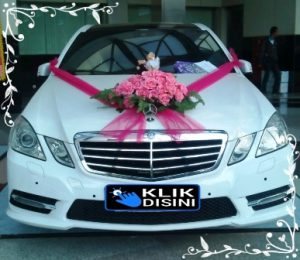 bunga mobil pengantin bekasi